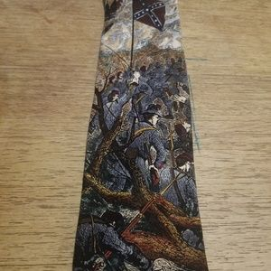 The rebel yell Mens Necktie